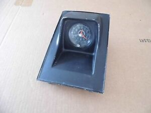 Original 1967 1968 Chevrolet Camaro Firebird Center Console Clock
