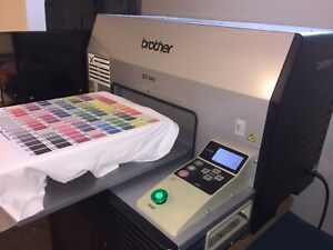 Brother Gt 541 new 500ml Ink All 4 Colors Dtg Printer