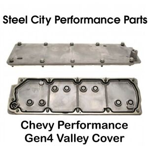 Chevy Performance Gen4 4 8 5 3 6 0 6 2 Valley Cover W Gasket Bolts 12598832