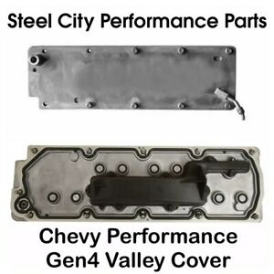 Chevy Performance Gen4 4 8 5 3 6 0 6 2 Valley Cover W Gasket Bolts 12599296