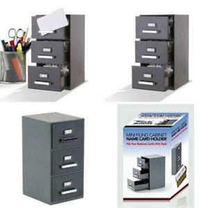 File Cabinet Drawer Storage Document Holder Organizer Box Business Card Office H