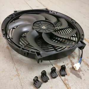 1998 Ford Contour 14 Inch Super Duty Radiator Fan Housing 12v Electric Cooling