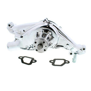 Polished Aluminum 348 409 Chevy Aluminum Water Pump