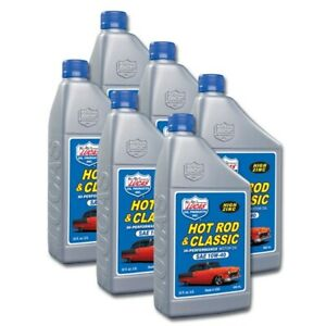 Lucas Oil 10688 Sae 10w40 Hot Rod Engine Oil 6qt Case