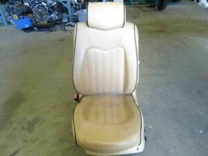 05 Maserati Quattroporte M139 Front Left Driver Side Seat Leather Beige