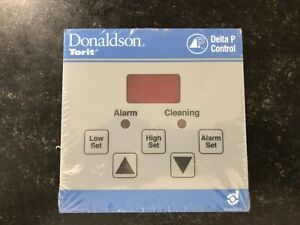Donaldson Torit Delta P Control glass Front With Gasket