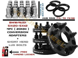 Bmw 5x120 To Audi 5x112 Conversion Wheel Adapters 20mm 20 Bolts