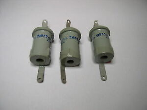 Doorknob Capacitor K15 14v 82pf 2kv Nos Lot Of 3pcs