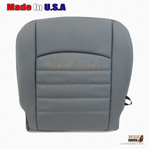 Driver Bottom Vinyl Seat Cover Gray 2013 2014 2015 Dodge Ram 1500 2500 3500 St