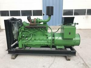 _105 Kw John Deere Generator Set 12 Lead Reconnectable Year 2002 Low Hours