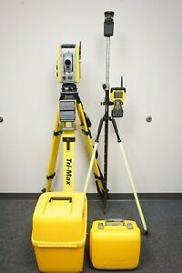 Trimble S6 Robotic Total Station 5 Sec Dr 300 Tsc 2 Survey Controller Mt1000