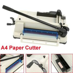 A4 Paper Cutter Guillotine Trimmer High Speed Steel Blade Cutting Machine