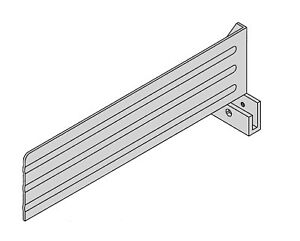 Carriage Fence For Hobart Slicer 3 Tall For Models 1612 1712 1812 1912