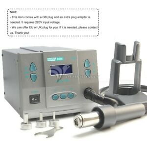 1300w Smd Soldering Rework Station Hot Air Lcd For Pcb Chip Repair Quick 861x