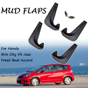 Universal Mud Flaps Splash Guards For Honda Accord Hr V Fit Freed Beat Mudguards