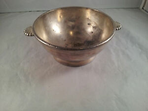 Rare Reed Barton Silver Soldered Candy Bowl Dish Compote