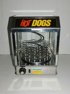 Commercial Used Weiner Go Round Hot Dog Machine Carousel Restaurant Stand Cart