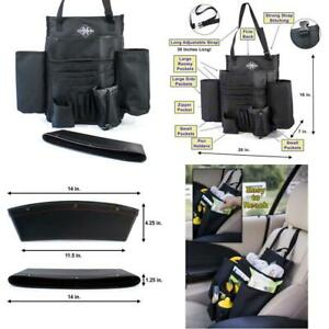 Front Car Seat Organizer Comes With 1 Pocket Caddy For Your Car Truck Van Or S