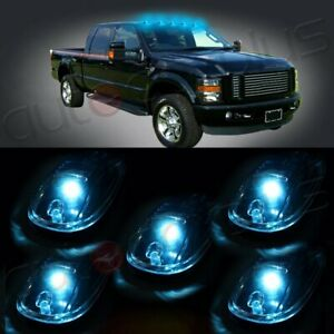 5x Truck Cab Marker Lights For Car Truck Suv 4x4 Clear Lens Us Fast Led Light