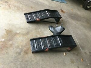 Car Ramps Steel Excellent Condition