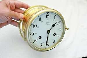 Ship Clock Schatz Royal Mariner Complete Service By Clockmaker By Me