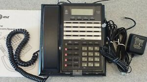 At t 854 4 line Phone speaker intercom conference Great Condition