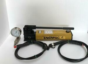 Enerpac P842 2 speed Hydraulic Hand Pump For Double Acting Cylinders 700 Bar 2