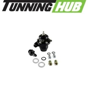Aem 25 301bk Adjustable Fuel Pressure Regulator Black For Acura Honda