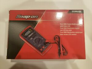 Snap on Auto range Digital Multimeter True rms Color Display Eedm525e