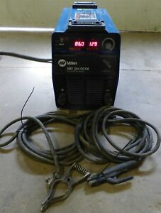 2012 Miller Xmt304 Inverter Multi Process Welder Mig Tig Stick Arc Pulse Capable