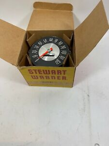 Stewart Warner D565ds 120mph Vintage Speedometer New Old Stock