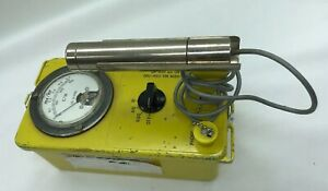 Victoreen Cdv 700 Model 6b Geiger Counter Civil Radiological Survey Meter