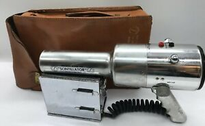 Vintage Precision Radiation Model 111b Scintillator Uranium Finder 1954