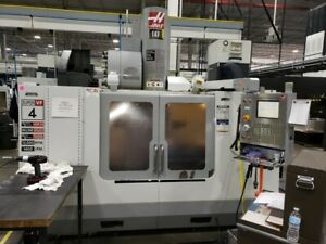 Used Haas Vf 4ss Cnc Vertical Machining Center Mill 12k Rpm Super Speed 30hp 05