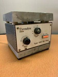 Thermolyne Type 1000 Heated Stir Plate W Warranty