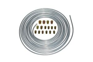 A Team Performance Brake Line Kit 25 Ft 3 16 Steel Tube Roll With Fittings