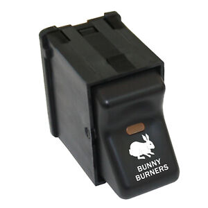 Rocker Switch 327 12 Volt Bunny Burners On Off Parts For Jeep Wrangler 97 06