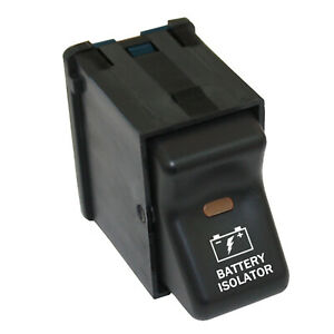 Rocker Switch 363 12v Battery Isolator On Off Parts For Jeep Wrangler 97 06 4x4