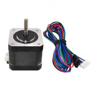 Nema 17 Stepper Motor 64oz in 1 5a 42x42x39mm 4 wire W 1m Cable Connector New