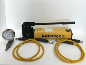 Enerpac P842 2 speed Hydraulic Hand Pump For Double Acting Cylinders 700 Bar 1