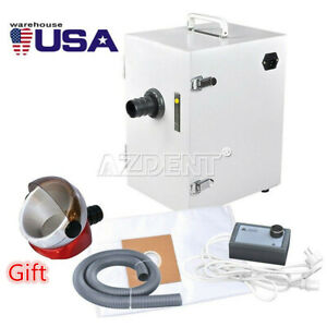 Dental Lab Digital Single row Dust Collector Vacuum Cleaner For Laboratory