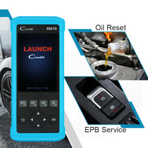 Launch X431 Creader Cr8001s Viii Obd2 Code Reader Auto Scanner Diagnostic Tool