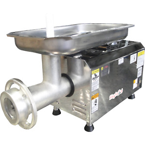 Commercial Kitchen Pse 32hd Heavy Duty Countertop Electric Meat Grinder 32 Dual