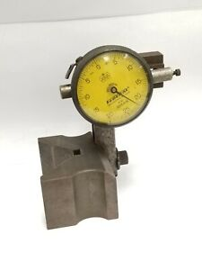 Federal Dial Indicator Guage 005mm With Iron Base