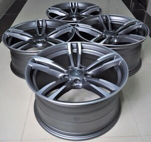 19 Gray M3 M4 Style Wheels Rims Fits Bmw 3 Series E46 E90 E92 E93 F30 F32 F33
