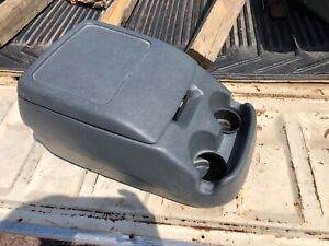 92 96 Ford F 150 F 250 F 350 Bronco Center Console Cup Holder Dark Gray Oem Ford