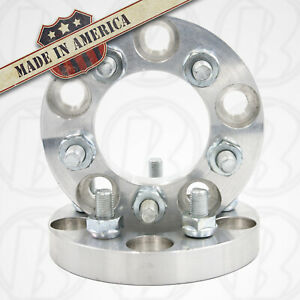 2pc 5 Lug 5 5 To 5 X 4 75 Wheel Adapters Spacers 3 4 W studs
