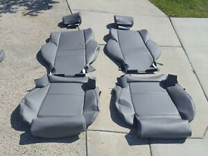 Bmw E63 645ci 650ci 04 08 Front Seat Upholstery Kit Set Convertible Leather New