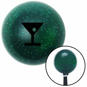Black Martini Glass M t Olive Green Metal Flake Shift Knob M t Usa Gear Jdm Air