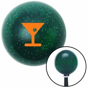 Orange Martini Glass M t Olive Green Metal Flake Shift Knob M t Usa Truck Jdm Si